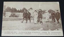 CPA 1914 GUERRE 14-18 KING OF ENGLAND GEORGE V AND WIFE MARY DE TECK ROI GB
