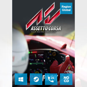 Assetto Corsa Red Pack DLC for PC Game Steam Key Region Free