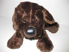 "CHOCOLATE LAB BROWN DOG Ganz 9"" Plush Stuffed Webkinz No Code Animal Toy Puppy"
