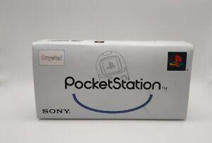 Sony PS1 PocketStation Memory Card Crystal SCPH-4000C Playstation Rare Boxed
