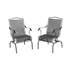 Outdoor Patio Rocking Chairs Porch Deck Decor Garden Armchair Furniture  2 Pack