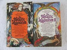 Lot of 2 Boyer Zahorski FANTASTIC IMAGINATION: An Anthology of High Fantasy Avon