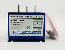 SURE POWER MODEL 702-D 70 AMP  BATTERY ISOLATOR 6-50 DC VOLTS