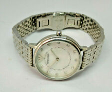 Ladies Emporio Armani MOP Dial Stainless Steel Watch AR-2511