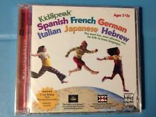 KidSpeak Spanish French German Italian Japanese Hebrew