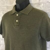 The Classic Polo Designed in Australia Green Rugby Polo Short Sleeve Size Medium