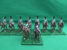 HINCHLIFFE 25/28mm PAINTED & BASED NAPOLEONIC PRUSSIAN DRAGOONS X 10