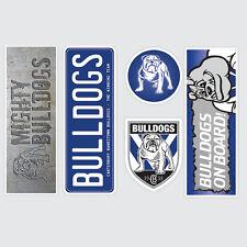 NRL Canterbury Bulldogs Set of 5 UV iTag Bumper Decals / Stickers