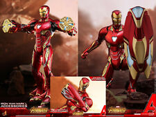 "Hot Toys ACS004 1/6 Avengers Infinity War Iron Man Mark L Nano Armour 12"" Figure"