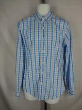 J Crew Cotton Slim patterned washed shirt Plaid Check XL