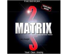 Matrix 2.0 by Mickael Chatelain Magic Trick Close Up Street Card Moving Hole