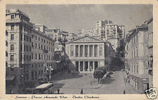 Savona-Piazza Armando Diaz-Teatro Chiabrera-f.p.