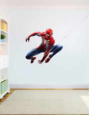 Spiderman Wall Art Sticker High Quality Bedroom Decal Print