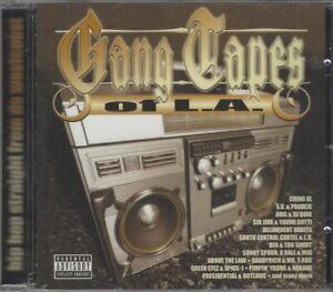 Gang Tapes of L.A. CD, Chino XL, L.V. & Prodeje, AMG & DJ Quik, BFA & Too Short,