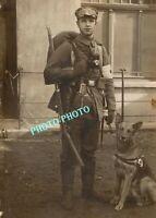 WW1 WWI GUERRE  France  14/18  GERMAN MEDIC HUND  AMBULANCE HOPITAL KRIEG WAR  1