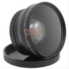 52 mm 0.45X Fisheye Macro Lens for Nikon D3000 D3100 D5000 D5100 7000D D3200