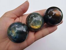 Beautiful Labradorite Sphere 40mm Madagascar