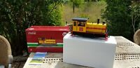 locotracteur LGB COCA COLA ref 27631 échelle G