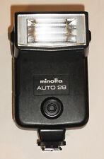 Minolta Auto 28 Hot Shoe Mount Flash for Minolta Manual Focus Film Cameras