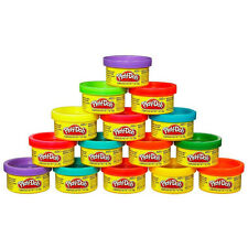 Play-Doh Party Present Fun Toy Bag Size 15 Dough Compound Cans