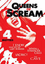 Queens of Scream 4 Movie Thrill-Fest HORROR USED VERY GOOD DVD