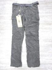 NEW Da-Nang Women's Casual Pants Beaded Multi-Pockets MOKA BCG16151930 MEDIUM M