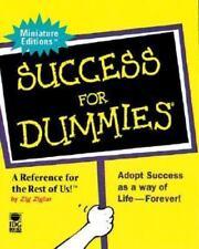 Success for Dummies (Miniature Editions) by Ziglar, Zig Hardback Book