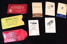 Vintage Sewing Kits 8 Total Nice Variety Of Obsolete Businesses
