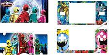 nintendo DS Lite - POWER RANGERS - 4 Piece Decal / Sticker Skin vinyl