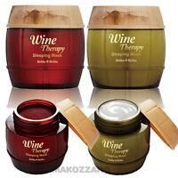 Holika Holika Wine Therapy Sleeping Mask Peels Night Cream Korean Cosmetics Gift