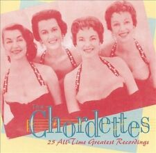The Chordettes: 25 All-Time Greatest Rec CD