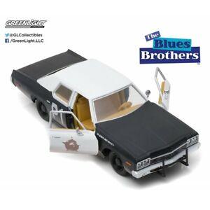 Bluesmobile Dodge Monaco 1974 Blues Brothers Greenlight 1/24 nuovo