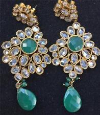 Emerald Earrings Indian Jewellery
