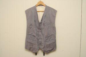 Comme des Garcons Homme Plus purple stripe AD1992 vest L
