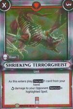 WARHAMMER Champions TCG Shrieking Terrorgheist 099/278 - 01 R FOIL