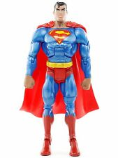 """DC Superman Batman Public Enemies METALLIC SUPERMAN 6"""" Action Figure Mattel 2010"""