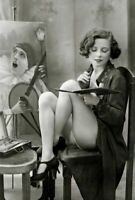 Vintage Risque Painter Photo 687 Oddleys Strange & Bizarre