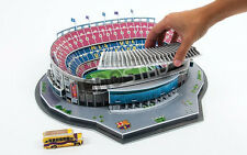 Barcelona Camp Nou Stadium 3D Puzzle Football Club Jigsaw Model Spain Boxed