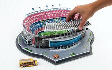 Barcellona Camp Nou Stadium 3D Puzzle FOOTBALL CLUB Puzzle Modello Spagna in Scatola