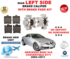 FOR MERCEDES SLK200 SLK280 SLK300 R171 2004-2011 REAR LEFT BRAKE CALIPER + PADS