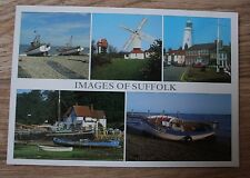 """Images Of Suffolk"" Postcard - Aldeburgh,Pin Mill,Thorpeness,Southwold etc"