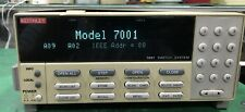 KEITHLEY MODEL 7001 Switch System