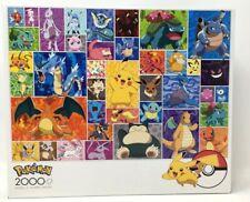 Pokemon Characters 2000 Piece Jigsaw Puzzle Pikachu Buffalo Games New Sealed