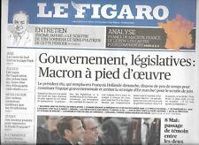 EL FIGARO nº22626 09/05/2017 Macron presidencia Y legislativo_resultados