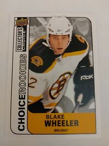 2008-09 Collector's Choice Rookies 249 Blake Wheeler Boston Bruins