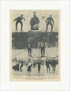 Winter Sports IN Germany And Holland Schreiberhau Zenger F Original