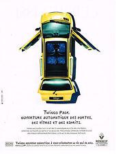 PUBLICITE ADVERTISING 064  1995  la Renaut Twingo Pack