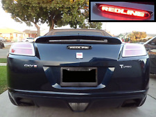 Saturn Sky Redline 3rd Third Brake Light Decal Overlay Sticker 2007 2008 2009