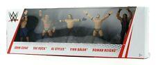 WWE Wrestling Figures: John Cena, The Rock, AJ Styles, Finn Balor & Roman Reigns