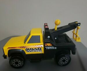 2012 Hasbro Metal Tonka Tow Truck Wrecker Road Rescue. 24-Hour. Model #92202